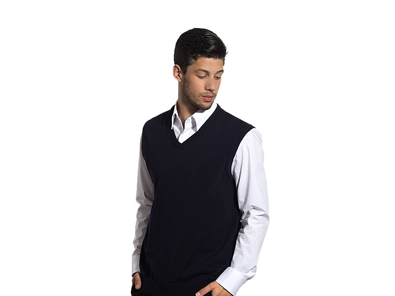 Muški pulover sa V-izrezom